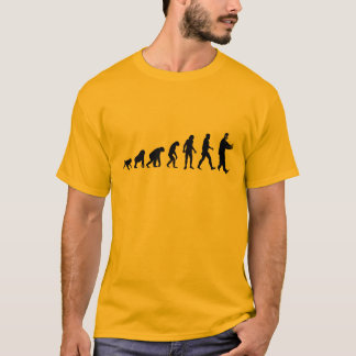 Human Evolution Tai Chi T-Shirt
