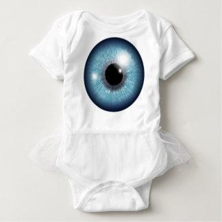 Human Eyeball Baby Bodysuit
