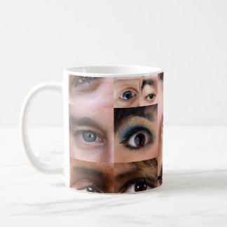 Human Eyes Montage Mug