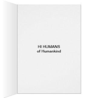 HUMAN FAMILY-1 CARD