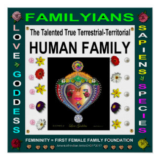 HUMAN FAMILY-1 POSTER