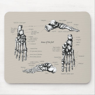 Human foot mouse pad