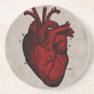 Human Heart Coaster