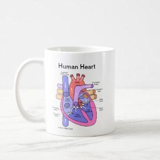 Human Heart Coffee Mug