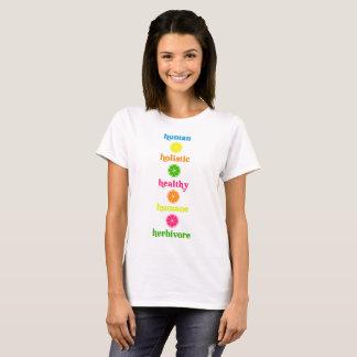 Human Holistic Healthy Humane Herbivore T-Shirt