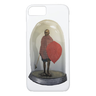 Human in cage - endangered tribe iPhone 8/7 case