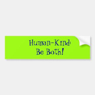 Human-Kind Bumper Sticker