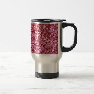 Human liver cells with cancer travel mug
