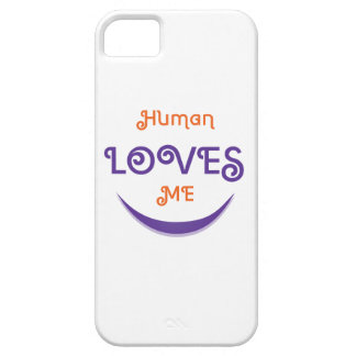 Human Loves me iPhone 5 Cases