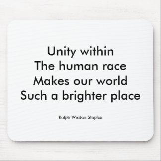 Human race unity mousepad