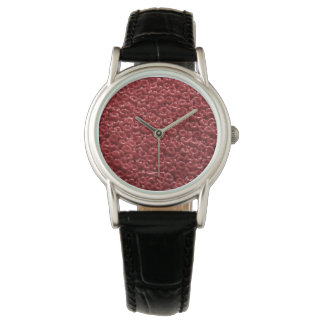 HUMAN RED BLOOD CELLS ARTISTIC WATCH