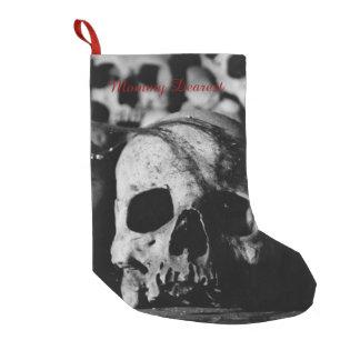 Human Skull Collection Small Christmas Stocking