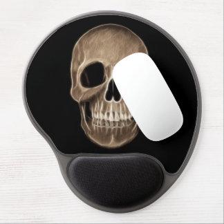 Human Skull Halloween X-Ray Skeleton Gel Mouse Pad