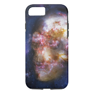 Human Skull in the Stars iPhone 7 Case