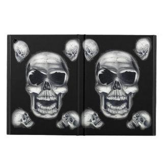 Human Skulls Black iPad Air Case