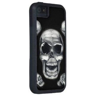Human Skulls Black iPhone 5/5s Tough Xtreme Case