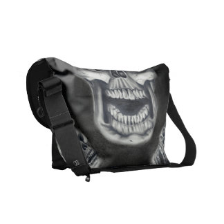 Human Skulls Messenger Bag