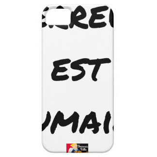 HUMAN TERROR EAST - Puns François City iPhone 5 Cover