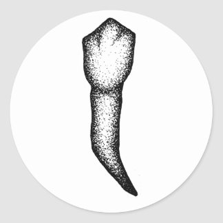 Human Tooth Classic Round Sticker