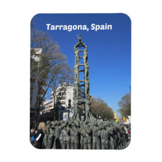 Human Tower statue, Spain Magnet
