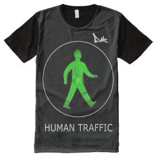 HUMAN TRAFFIC T SHIRT BY DMT All-Over PRINT T-Shirt
