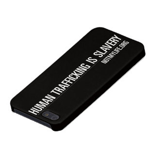 Human Trafficking is Slavery iPhone 5/5s Case