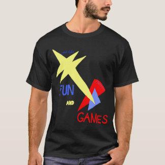 Human? Ugly Pain? FUN AND GAMES T-Shirt