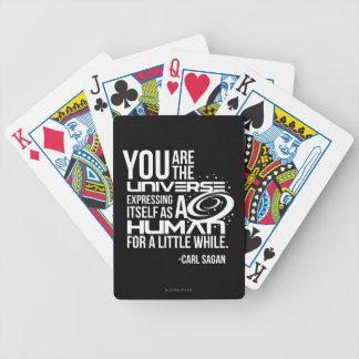 Human Universe Bicycle Playing Cards