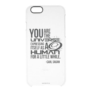 Human Universe Clear iPhone 6/6S Case