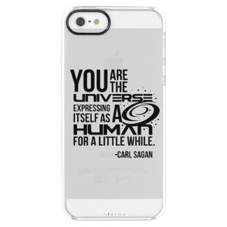Human Universe Clear iPhone SE/5/5s Case