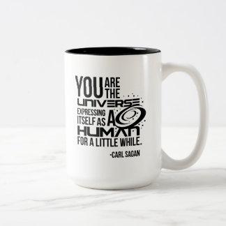 Human Universe Two-Tone Coffee Mug