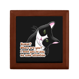 Human? Where are you? Cat Gift Box