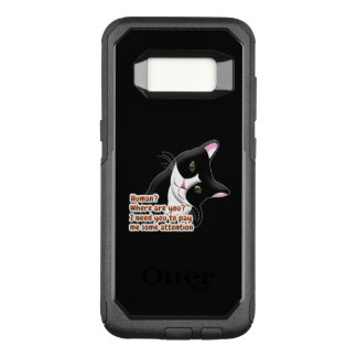 Human? Where are you? Cat OtterBox Commuter Samsung Galaxy S8 Case