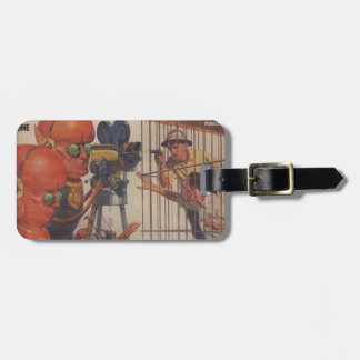 Human Zoo Luggage Tag