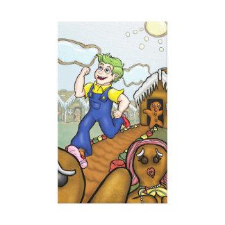 Humanbreadman Canvas Print