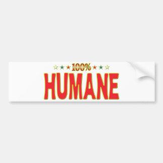 Humane Star Tag Bumper Stickers