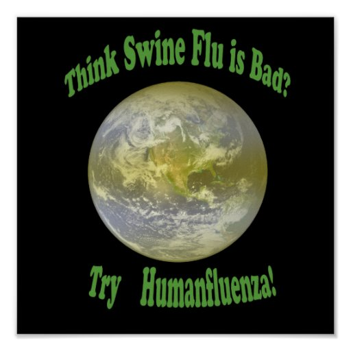 Humanfluenza shirt black type print