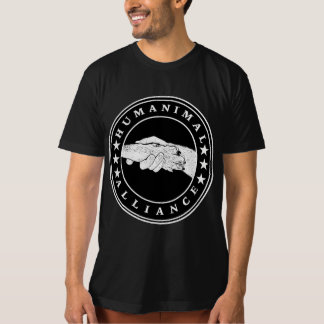 Humanimal Alliance - Black Organic T-Shirt