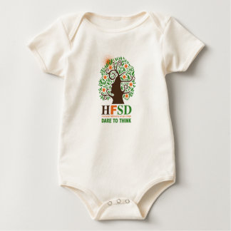 Humanist Fellowship - Dare to Think! Baby Bodysuit