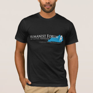 Humanist Forum of Central Kentucky Black T-shirt2 T-Shirt
