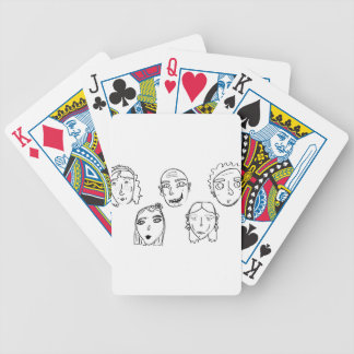 humanity bicycle playing cards