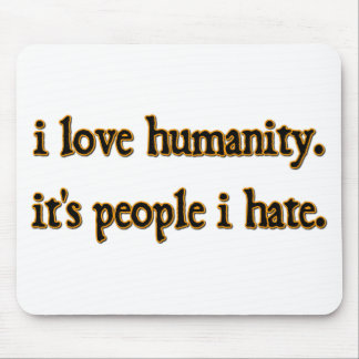 Humanity Mouse Pad