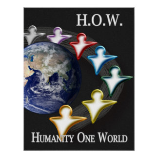 Humanity One World Poster