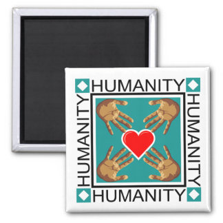Humanity Stamp Magnet
