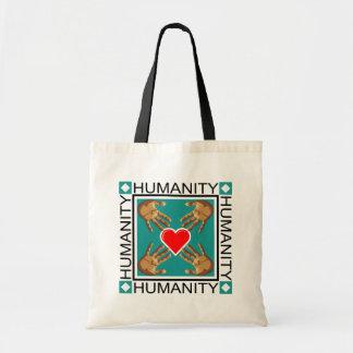 Humanity Stamp Tote Bag