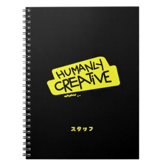 Humanly Creative Staff Notebook JPN-I