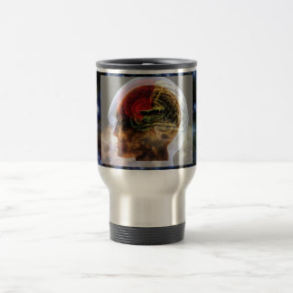 HUMANOID : Brain Brainy Science Biology Mind Coffee Mug