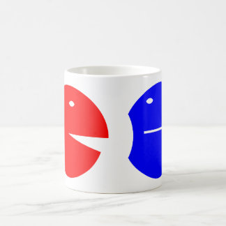 Humans listening humanly beings listening mugs
