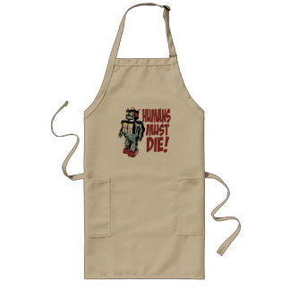 Humans Must Die Long Apron