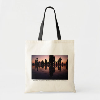 Humans Print with Terence Quote Tote Bag